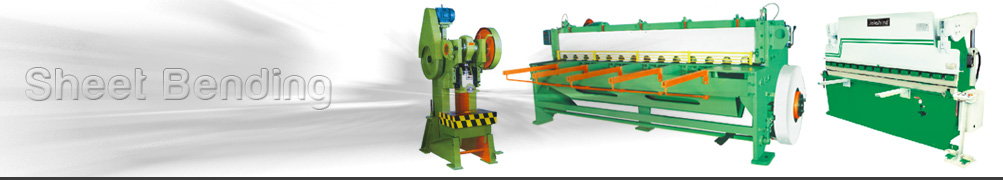 Machines for Bending Metal Sheets.